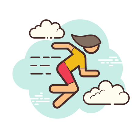 Girl Running icon