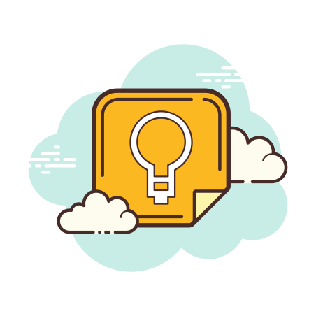 Google Keep icon in Cloud