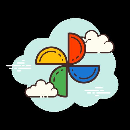 Google Photos icon in Cloud
