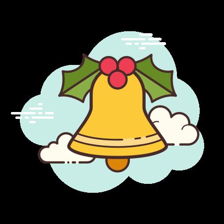 Jingle Bell icon in Cloud