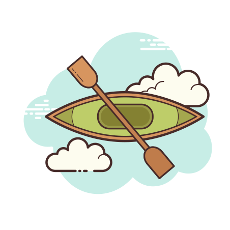 카약 icon in Cloud