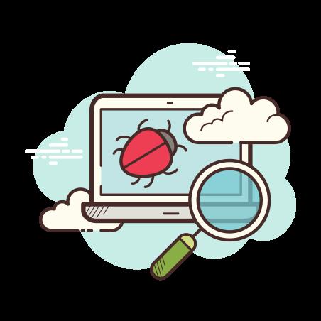 Laptop Bug icon