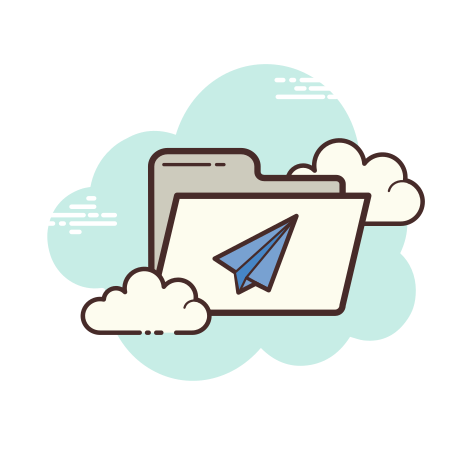 Mail Folder icon in Cloud