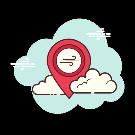 마커 바람 icon