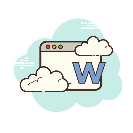 Microsoft Word Window icon