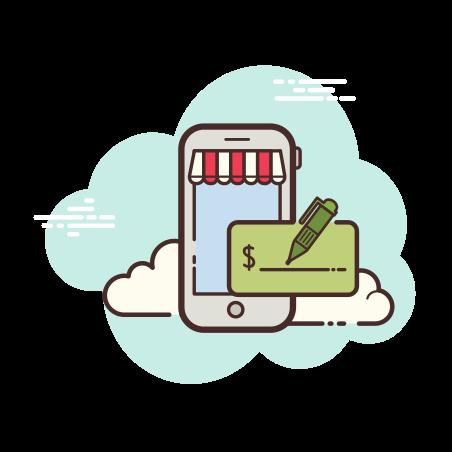Mobile Shop Credit icon