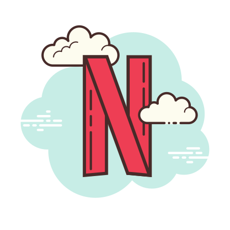 Netflix icon in Cloud