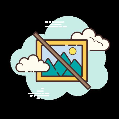 No Image icon in Cloud