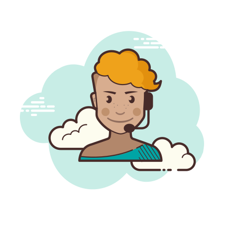 Online Support icon in Cloud
