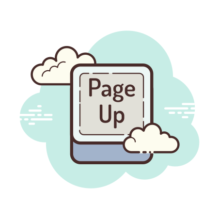 Page Up Button icon