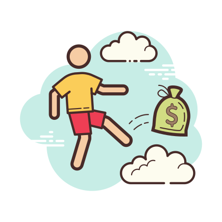 Pass Money icon in Cloud