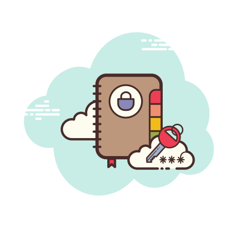 Password Book icon in Cloud