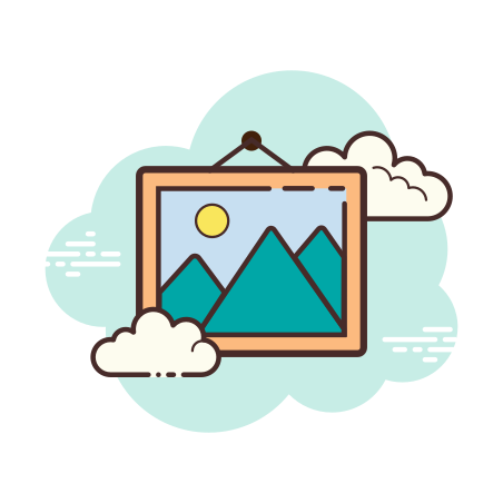 Picture icon in Cloud