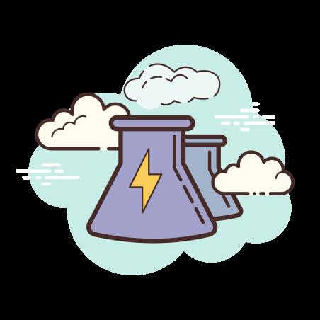 Centrale électrique icon