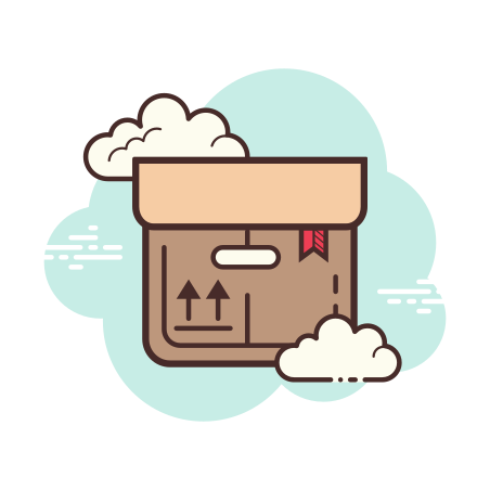 Product icon in Cloud