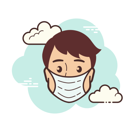 Protection Mask icon in Cloud
