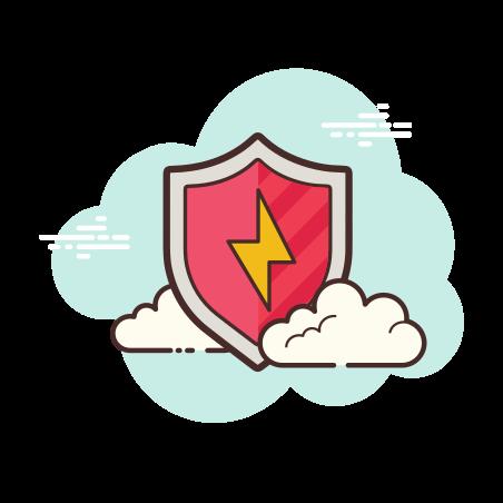 보안 에너지 icon in Cloud