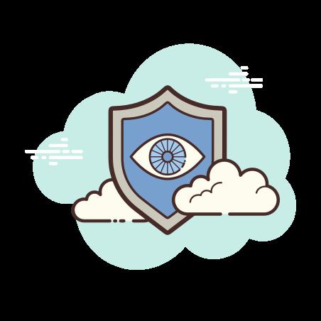 Security Cameras icon in Cloud