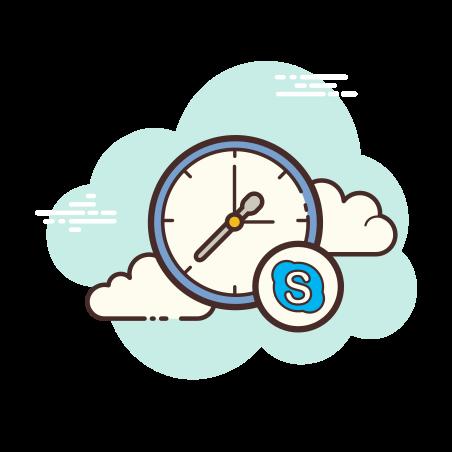 Skype Time icon