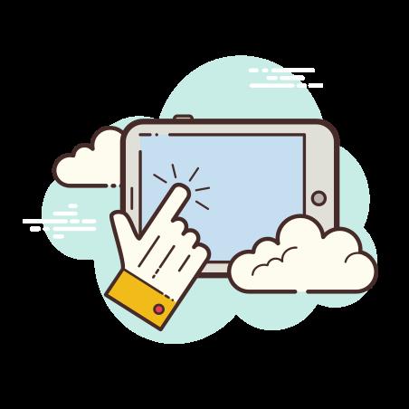 태블릿 탭 icon