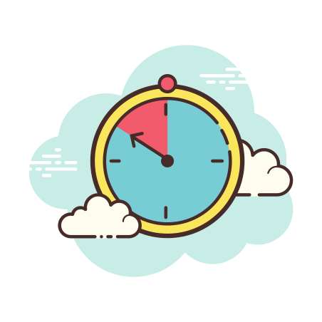 Timer icon in Cloud