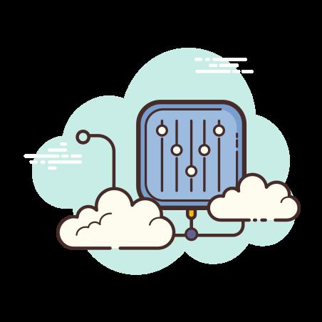 Web Equlizer icon in Cloud