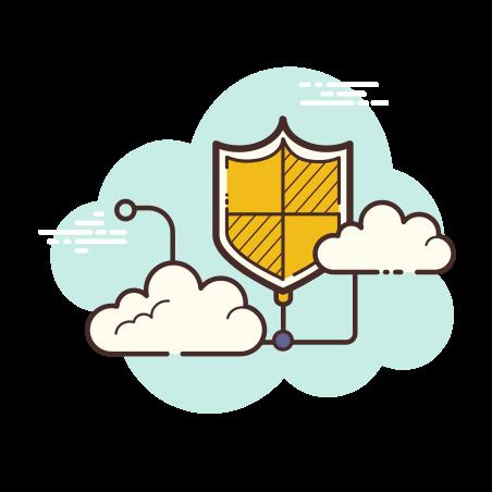 Web Shield icon in Cloud