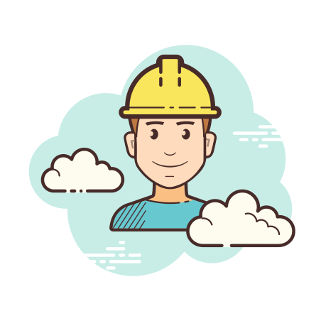 Worker icon in Cloud