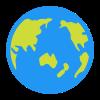 Glob - Azja icon
