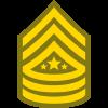 Sergeant Major of Army SMA icon