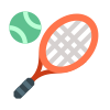 Tennis-Racquet With Ball icon