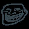 Trollface icon