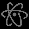 Atom edytor tekstu icon