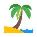 Palm Tree Outline icon
