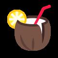 Cocktail à la noix de coco icon
