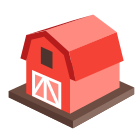 3D Farm icon