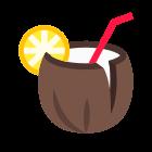 Koktajl kokosowy icon