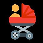 Baby in Pram icon