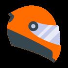Kask motocyklowy icon