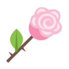 Rose Outline icon