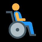 Wózek inwalidzki icon
