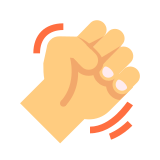Angry Fist Emoticon icon