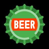 Zakrętka butelki piwa icon