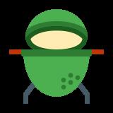 Duże zielone jajko icon