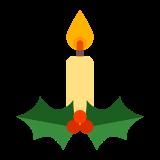 Świeca świąteczna icon