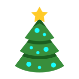 Christmas Outline icon