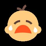 Płaczące dziecko icon