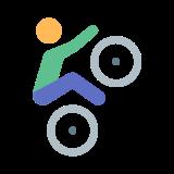Kolarstwo BMX icon