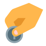 Donate Coin icon