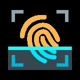 Skanowanie linii papilarnych icon